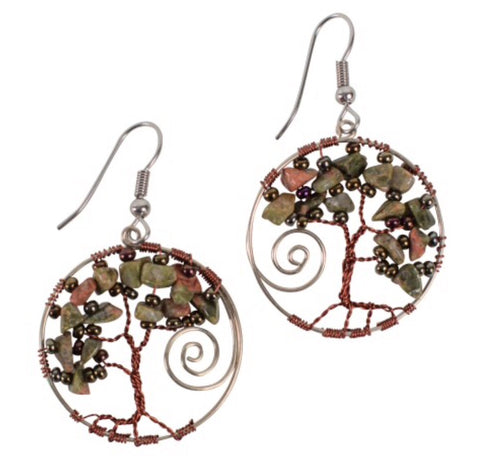 Twisted Tree Earrings