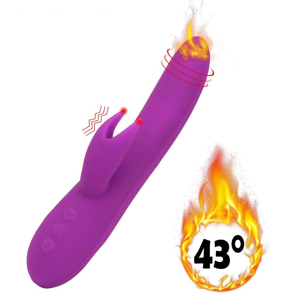 Rotating Dildo Heating Vibrator Stick Magic Wand G-spot Clitoris Simulator. - Sex toys  Huge dick anal Plugs XnxxToys.com
