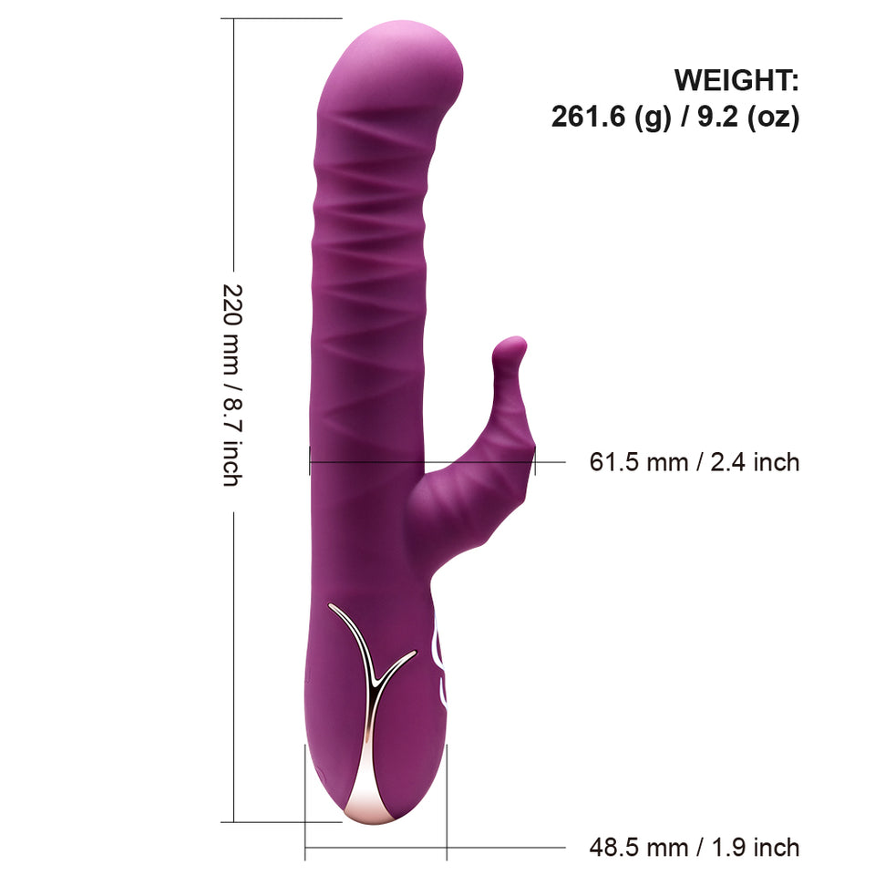 Luvkis Automatic Pulsator Thrusting G-Spot Dildo Vibrator Sex Toy For Women Clitoris Stimulator Vagina Massager Sex Products