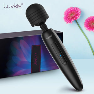 Luvkis Mr.20 Huge Magic Wand Massager AV Vibrator Sex Toys For Adults Sexy Shop Intimate Goods USB Charger