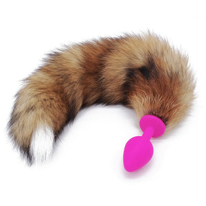 Sexy Adult Romance Fox Tail Sexy Silicone Butt Plug. - Sex toys  Huge dick anal Plugs XnxxToys.com
