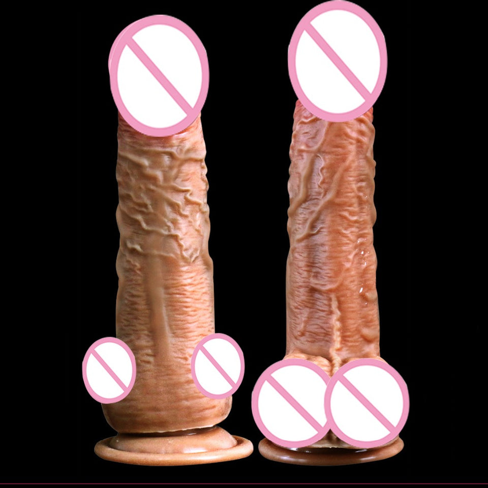 huge dick Realistic Penis With USB Charging Heating Soft Vibrating Dildo Suction Cup Dildo. - Sex toys  Huge dick anal Plugs XnxxToys.com