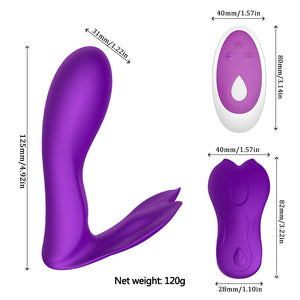 Panties Clit Stimulator Butterfly Vibrator 10 Speed. - Sex toys  Huge dick anal Plugs XnxxToys.com