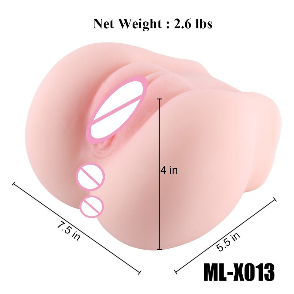 Realistic Mini Pussy Lifelike Real Vagina Tight Vagina Anal Adult Male Sex Toys - Sex toys  Huge dick anal Plugs XnxxToys.com