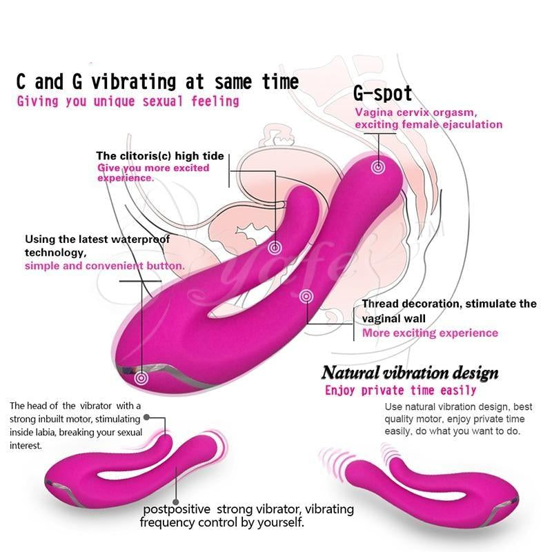 Multi Speed Super Powerful Dual Vibrator G Spot Vibrations Waterproof. - Sex toys  Huge dick anal Plugs XnxxToys.com