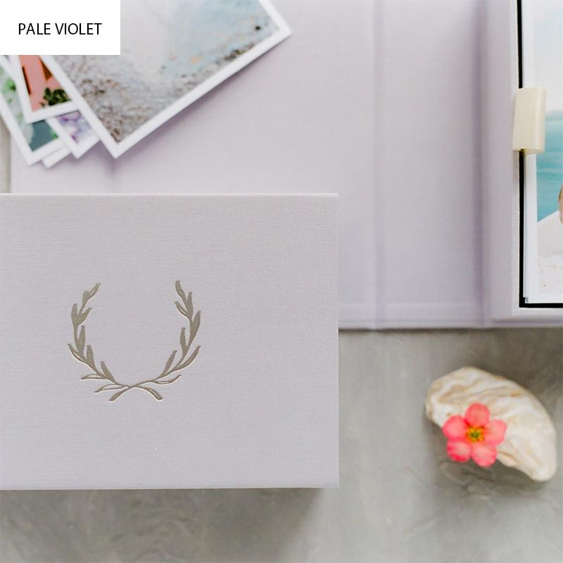Custom Double Linen Photo Box
