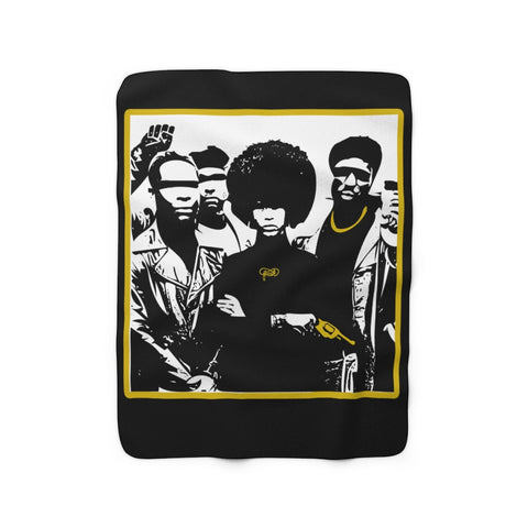 BLM Fresh Sherpa Fleece Blanket