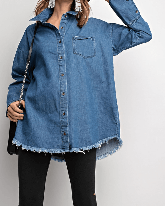 Andi Oversized Denim Shirt