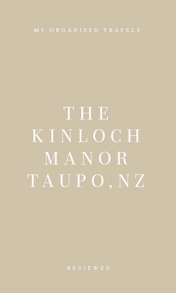 REVIEWED: The Kinloch Manor, Taupo, NZ