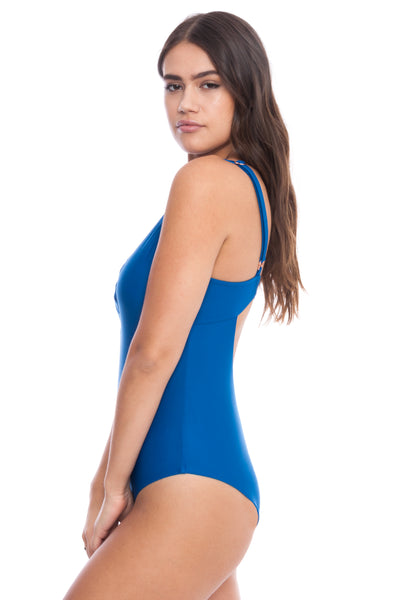 The Kayleen Blue Bathing Suit