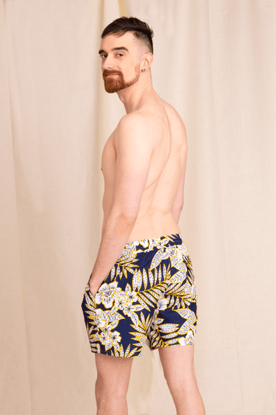 Men's Recycled Swim Trunks | Logan Easy Trunk