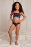 Floral Two Piece Swimsuit for Girls