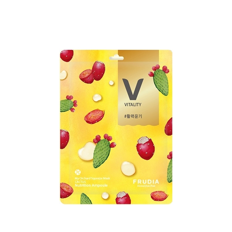 Frudia My Orchard Squeeze Mask Nutrition Ampoule #Cactus [BOX]