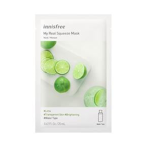Innisfree My Real Squeeze Mask _ Lime 20ml