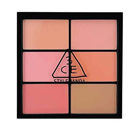 3CE Pro Multi Blush Color Palette #Softener