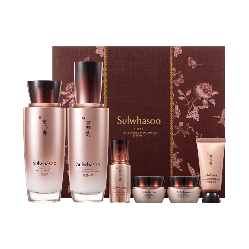 Sulwhasoo Time Treasure Skincare Set