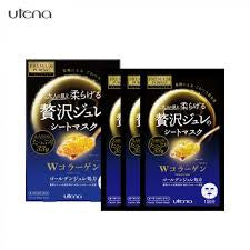 Utena Premium Puresa Golden Jelly Mask - Collagen [SHEET]