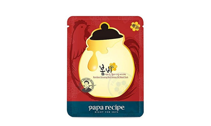 Papa Recipe Bombee Ginseng Red Honey Oil Mask [Sheet]