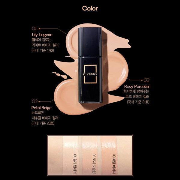 Giverny GO Milchak Signature Foundation 02 Rosy Porcelain