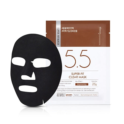 Acwell Super Fit clear mask