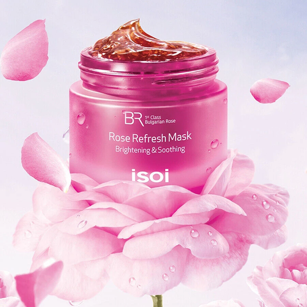Isoi Rose Refresh Mask