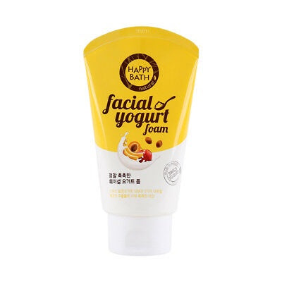 Happy Bath Facial Yogurt Foam Moist 120g