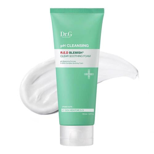 [Dr.G] Weak Acid Red Blemish Clear Soothing Foam_150mL