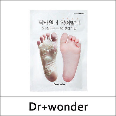 Dr. Wonder Foot Exfoliation Crocodile Foot Pack (NEW)