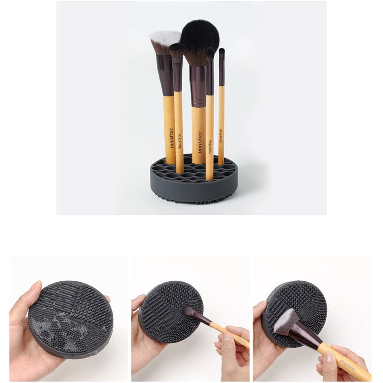 Innisfree brush cleaning Pad & Holder