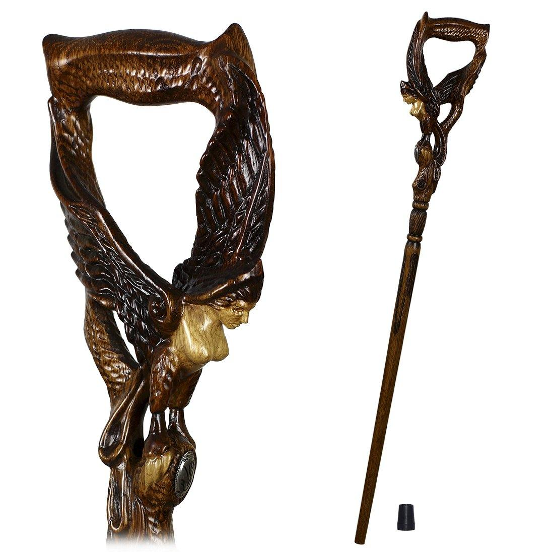 Paradise BIRD GAMAYUN Fantasy Winged Women Cane - GC-Artis Walking Sticks Canes