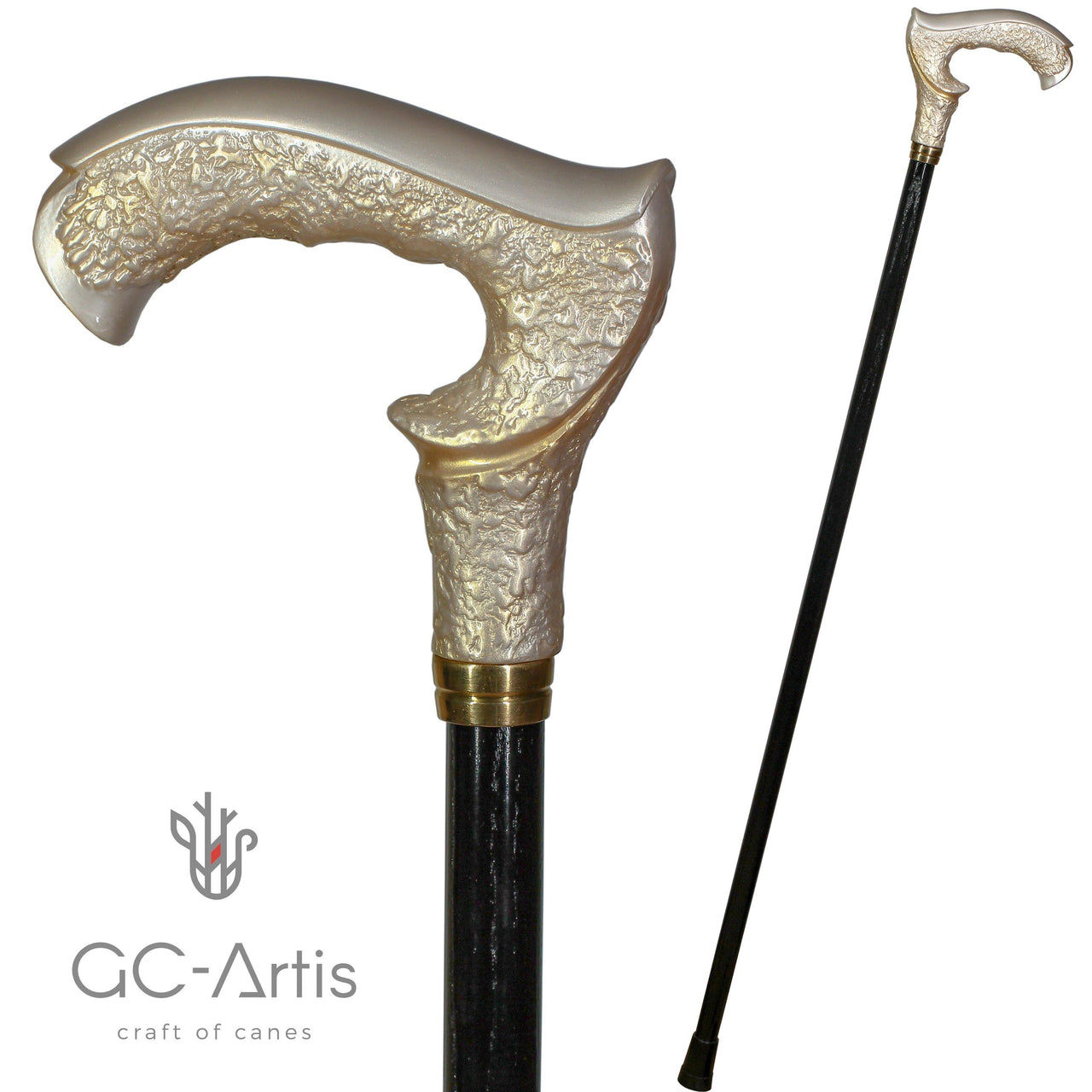 GRACE Pearl Walking Stick Cane - GC-Artis Walking Sticks Canes