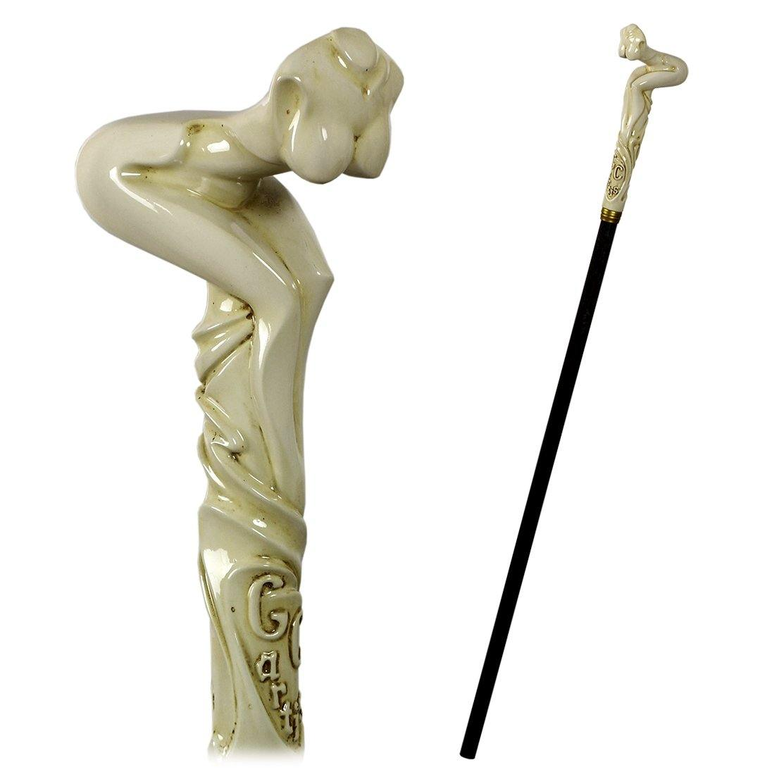 Nude Lady Sexy Girl Cane Walking Stick - GC-Artis Walking Sticks Canes
