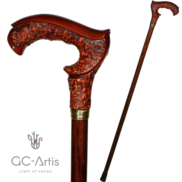 GRACE Brown Walking Stick Cane - GC-Artis Walking Sticks Canes