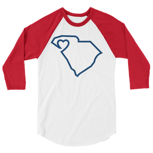 Upstate of Mind | 3/4 Sleeve Raglan Shirt