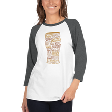 The Local Pint (Fall Foliage) | 3/4 Sleeve Raglan Shirt