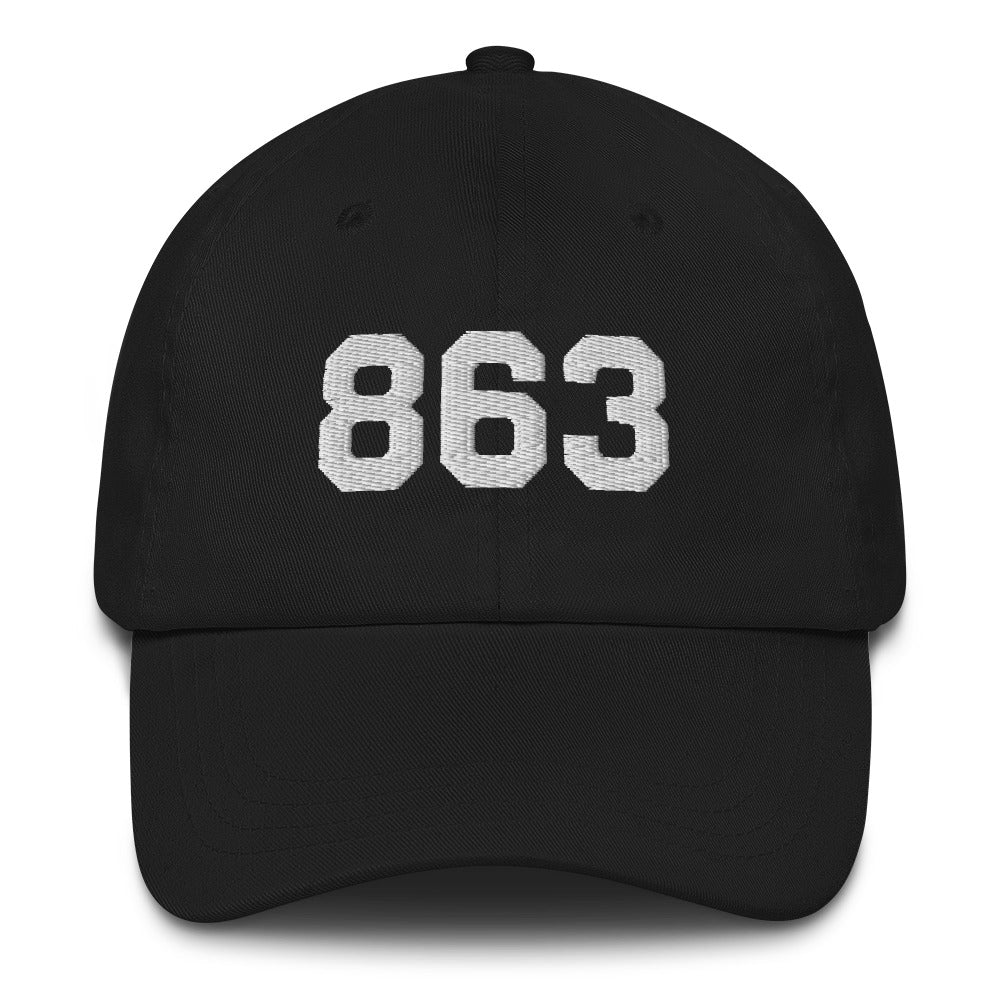 Reppin' the 863 (midnight edition) | Dad hat