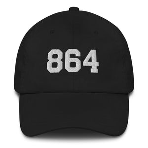 Reppin' the 864 (midnight edition) | Dad hat