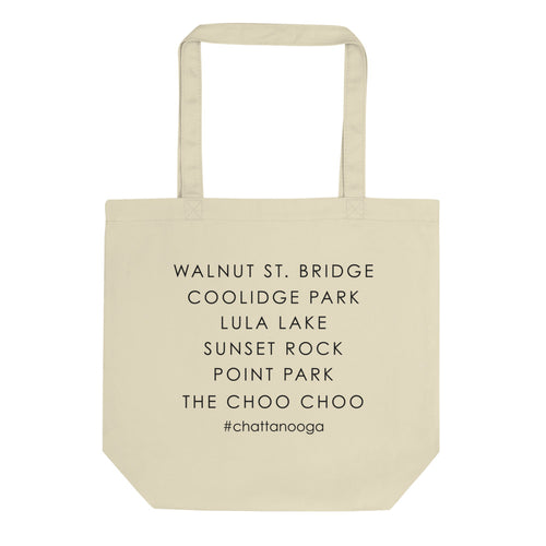Chattanooga Checklist | Eco Tote Bag