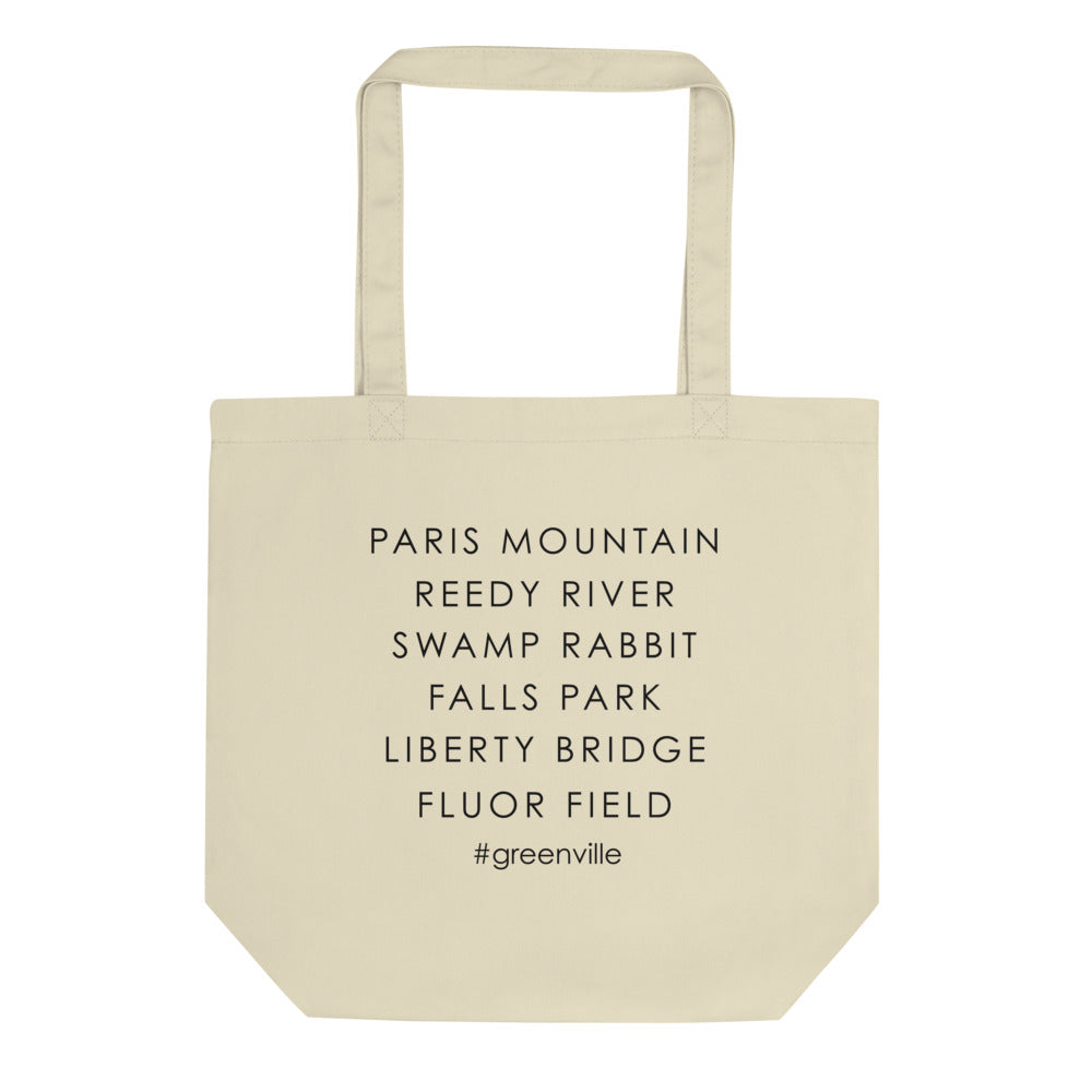 Greenville Checklist | Eco Tote Bag
