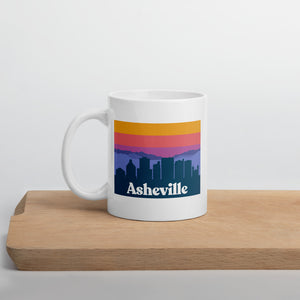 Skyline Sunset Mug | Asheville, NC