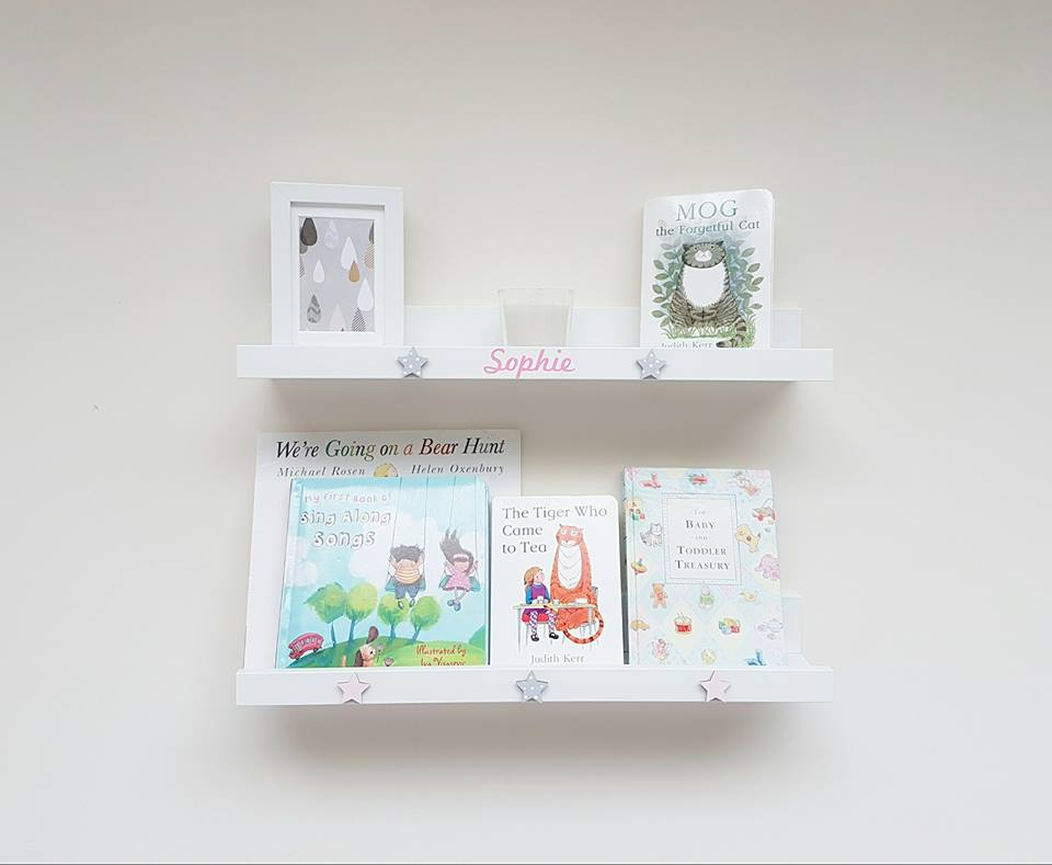 Childrens Personalised Wall Shelf