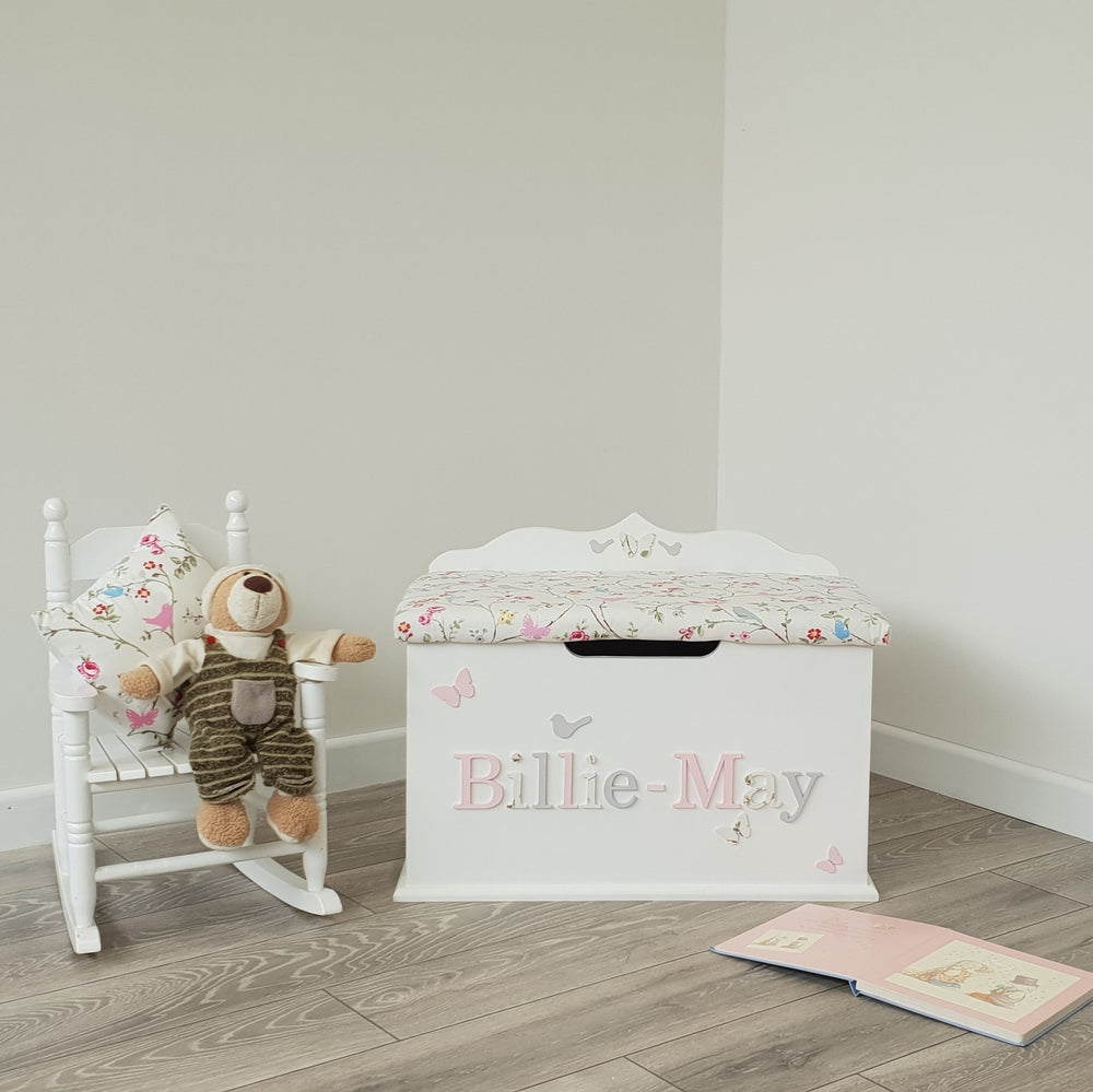 Personalised Rocking Chair and Toy box Bundle