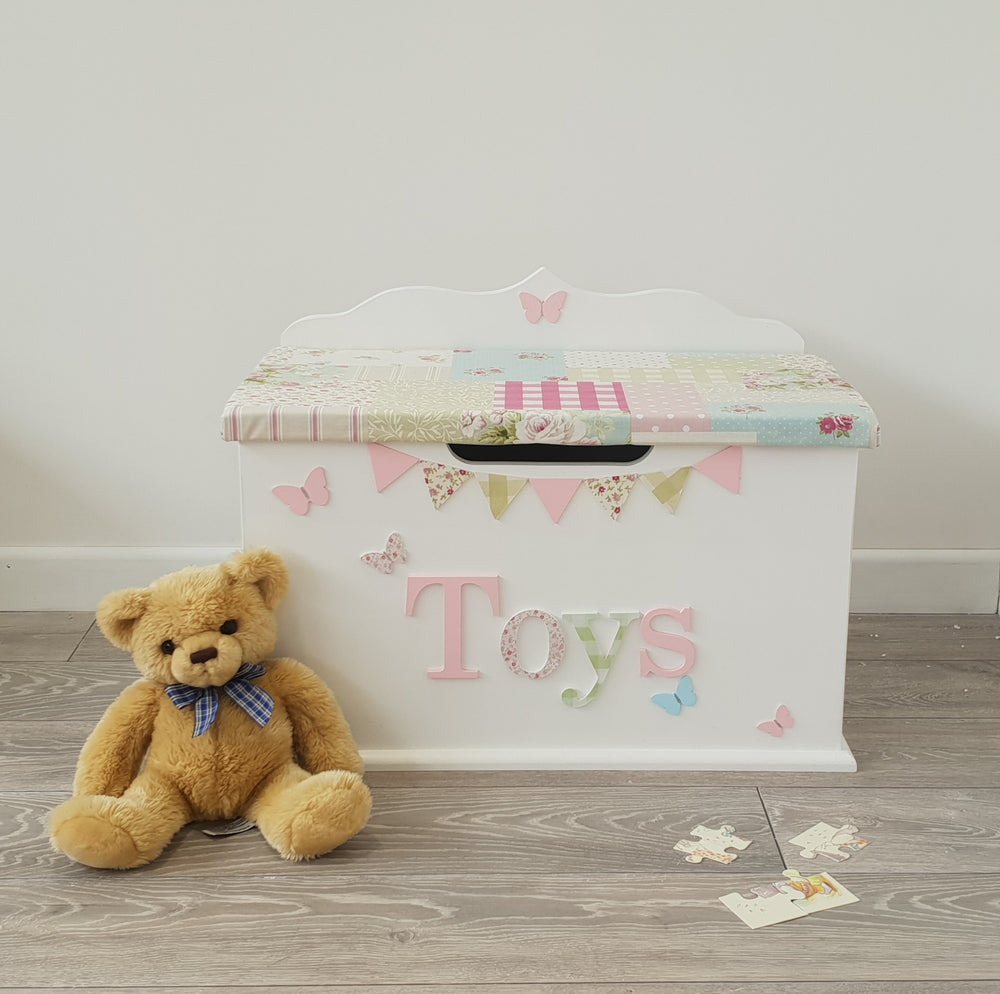 Patchwork Toy Box