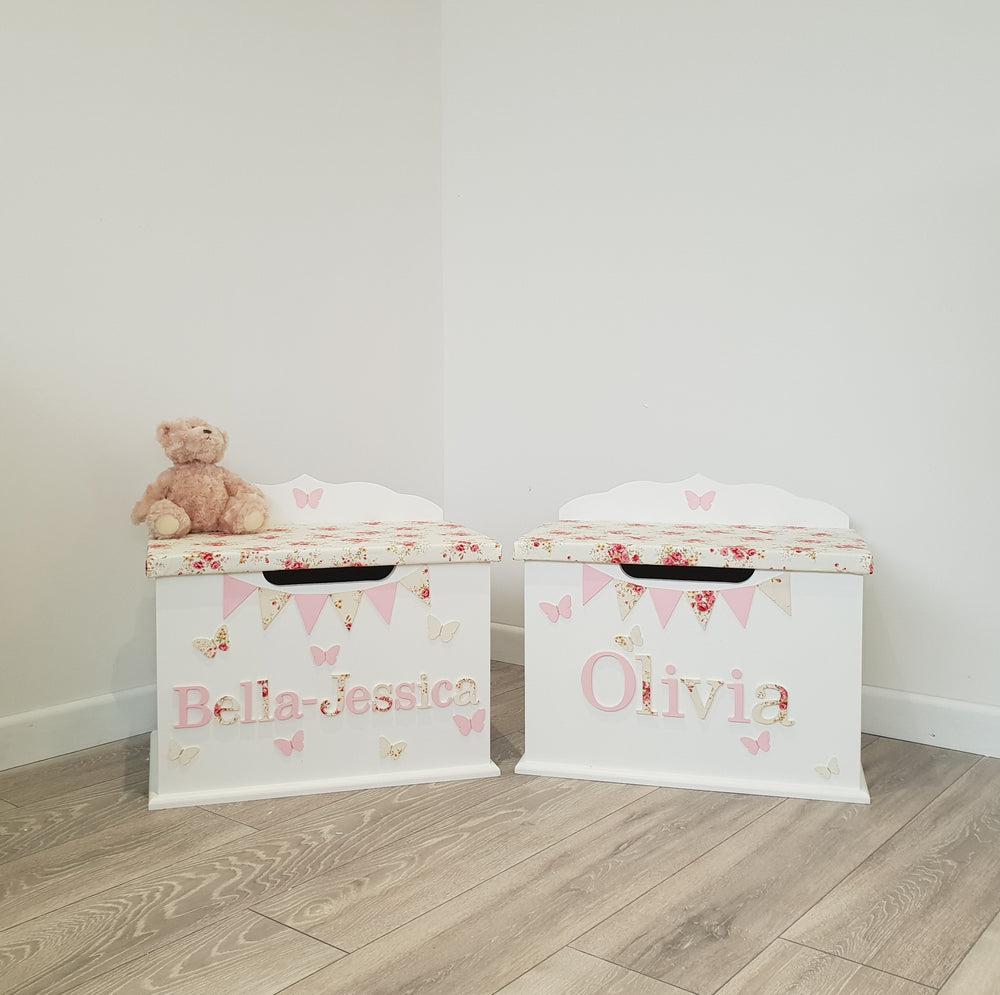 personalised toy box - for girls