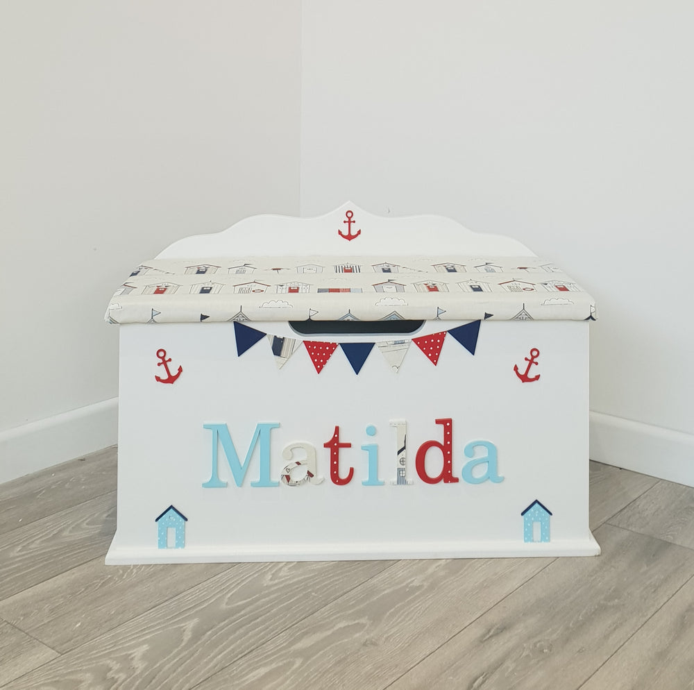 Nautical Toy Box