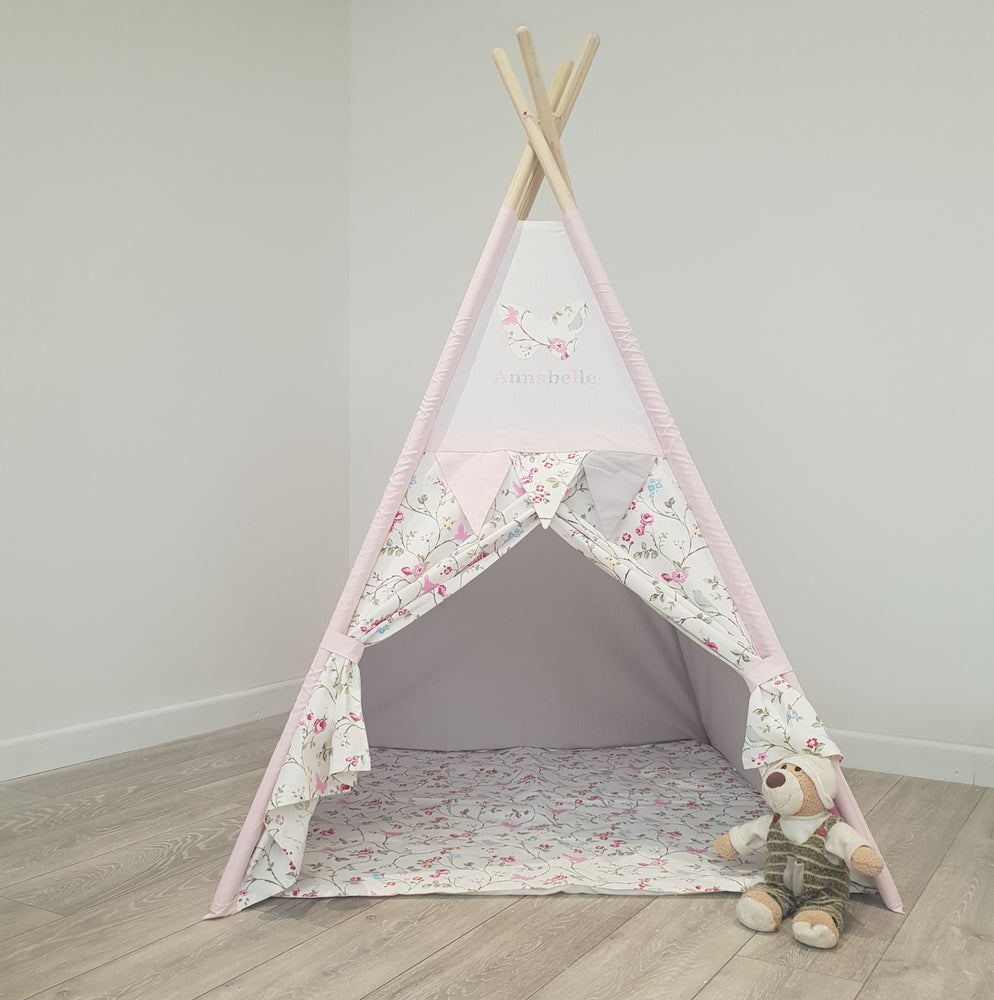 Bird Trail Personalised Teepee