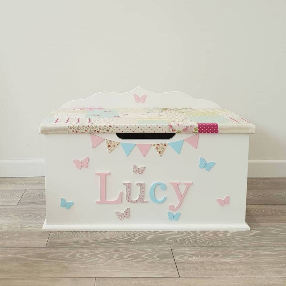 personalised toy box from UK