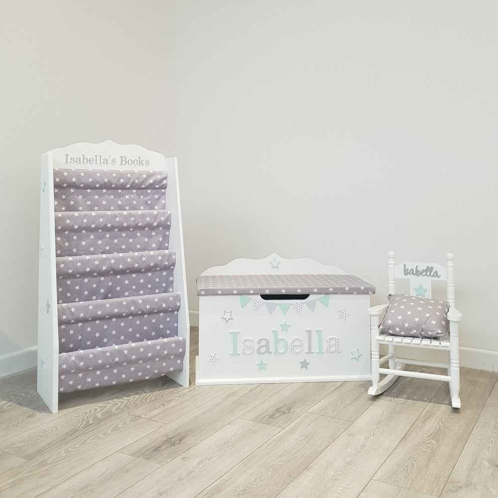 Toy Box, Booksling, Rocking Chair Bundle