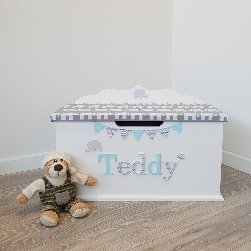 elephant design toy box
