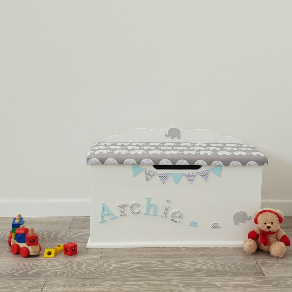 elephant design toy chest